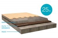 Izolarea șapelor cu plăci din plută expandată Placile din Pluta Expandata sunt un produs natural, echilibrat, cu caracteristici de neegalat, avand in compozitie doar granule din pluta de calitate, nu contine poliuretan sau alti aditivi.