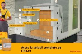 Sistem termoizolant pentru fațade tencuite