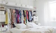 Dormitoare fara sifoniere sau dressing? Nicio problema! Sunt multe persoane pentru care dormitoarele fara sifonier reprezinta