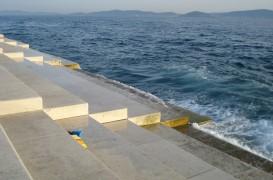 Orga mării sau cum creează valurile și vântul muzică pe țărmul Mării Adriatice