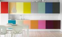 Cele mai colorate și creative dulapuri de bucătărie Dulapurile de bucatarie din zilele noastre au cel