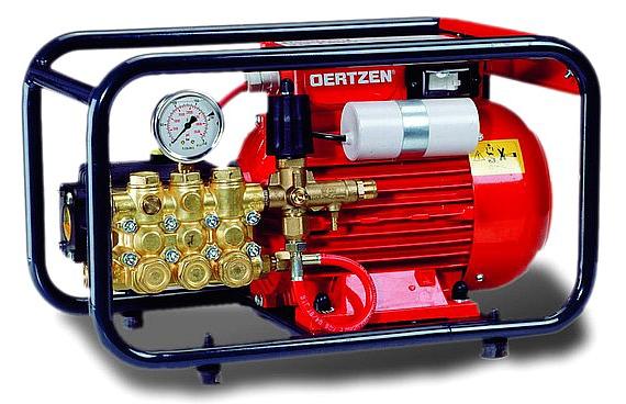 Oertzen: spalare cu presiune, echipamente de calitate, service rapid