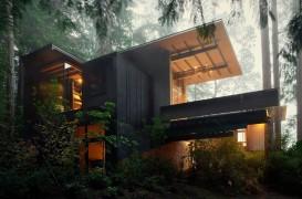 Arhitectul Jim Olson a petrecut 55 de ani renovandu-si cabana din Puget Sound