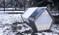 Adăposturi tip capsulă pentru a proteja oamenii străzii în timpul nopţilor geroase Proiectul numit Ulmer Nest