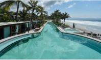 Myrtha Pools a furnizat un bazin infinity pentru hotelul W Punta de Mita Marriott Bazinul din