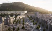O clădire universitară lungă de 700 de metri Campusul a fost proiectat de biroul francez Dominique
