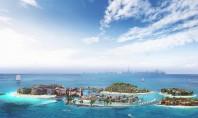 """""""Europa"""" din largul coastei Dubaiului Un proiect piramidal ce recreează continentul ţară cu ţară Pandemia nu"""