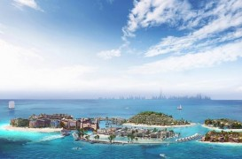 """""""Europa"""" din largul coastei Dubaiului. Un proiect piramidal ce recreează continentul ţară cu ţară"""