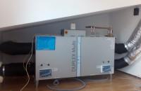 Ventilatie Atrea cu Duplex 500 Multi pentru o locuinta familiala din orasul Baicoi