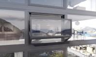 O fereastra care se transforma cu usurinta in balcon Conceputa in special pentru constructiile a caror