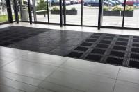 MASTER FLEX - siguranta si accesibilitate revolutionara pentru barierele antipraf de la intrare!