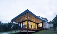 Patru containere au fost transformate într-o casă spațioasă prietenoasă cu mediul și ieftină Prin acest proiect