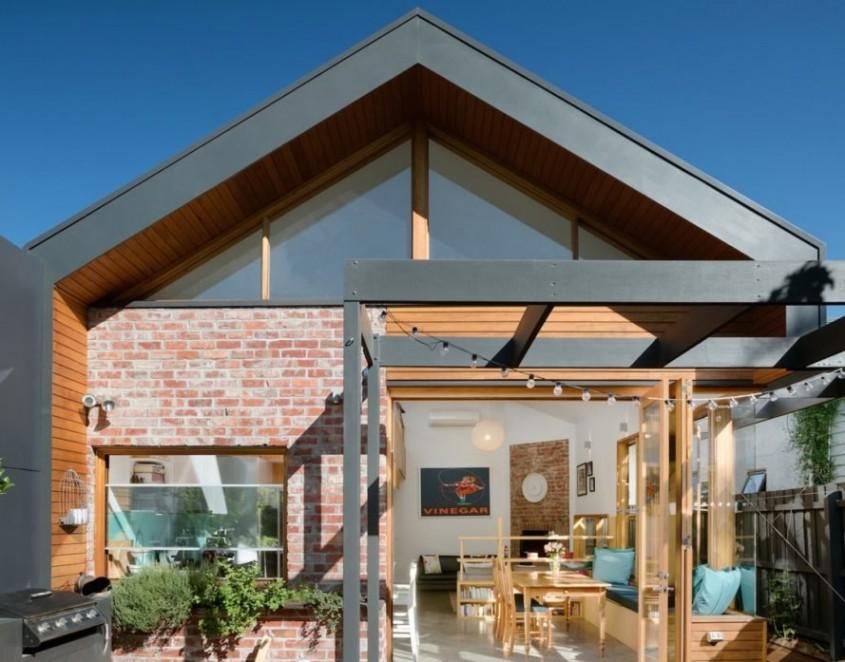 Casa inteligentă cu un design eficient și prietenos cu mediul
