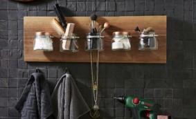 Dormitor si baie: Mic organizator pentru baie
