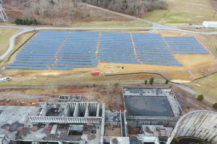 Cum poate o veche centrală nucleară să devină o fermă solară?