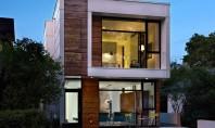 O casa ingusta dar cu interioare generoase Casa LG din Edmonton este o locuinta cu suprafete