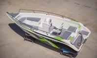 Barca de pescuit și agrement Delphin 5 5 In calitate de producator avem posibilitatea de a