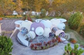 Casa formată din bule construită de un arhitect pentru el însuşi