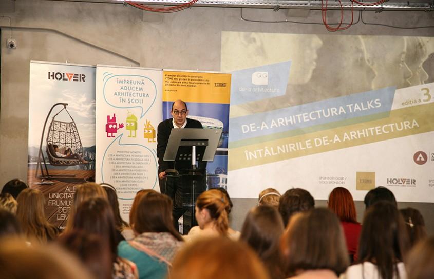 """Conferinta """"De-a arhitectura TALKS"""" si Gala Voluntarilor De-a arhitectura"""