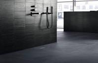 Rigole pentru duş Geberit - soluție de design pentru perete