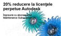 20% reducere la licentele perpetue Autodesk In perioada 07 05 2015 - 22 07 2015 puteti