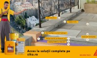 Terasă circulabilă peste spațiu încălzit placată cu piatră naturală – soluţie tehnică Placă din beton armat