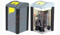 Pompa de caldura apa - apa TERRA SW 8-17 HGL completa Refrigerant R410A fara CFC capacitare