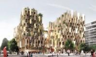 Kengo Kuma prezintă proiectul unui hotel eco de lux In curand turistii care vor vizita Parisul
