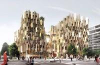 Kengo Kuma prezintă proiectul unui hotel eco de lux In curand turistii care vor vizita Parisul vor putea sa se lase invaluiti de un paradis vegetal in complexul hotelier realizat de Kengo Kuma si Marchi Architectes.