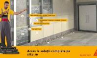 Fațadă ventilată cu sistem SikaTack® Panel – soluţie tehnică Perete exterior din beton sau zidărie Termoizolație
