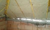 Executie termoizolatii interioare si exterioare Termoizolarea interioara devine obligatorie pentru asigurarea confortului termic si fonic in
