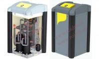 Pompa de caldura IDM sol - apa TERRA SW 20-42 Twin HGL Pompa de caldura sol