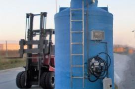 Rezervorul vertical - soluția 1st Criber pentru depozitarea lichidelor deasupra solului