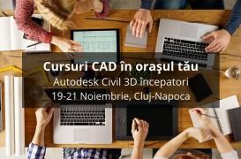 Cursuri de instruire CAD în orașul tau!