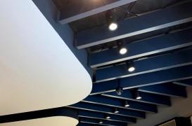 Tavanul lamelar Prometal Baffle