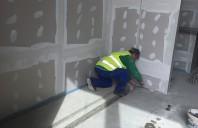 HIDROPLASTO a finalizat lucrarile de instalare a profilelor seismice de dilatatie pardoseala Deflex 850-100 pentru Coresi