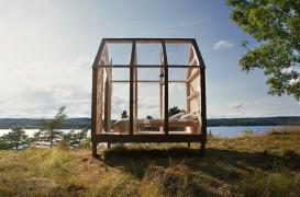 Cabanele din sticlă, soluția anti-stres propusă de suedezi