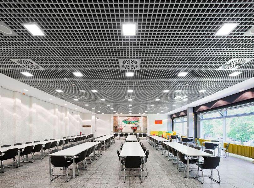 Plafoane metalice PROMETAL pentru spații de învățământ