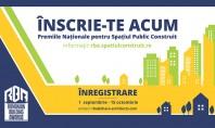 S-a lansat linia de inregistrare online a proiectelor pentru Premiile Romanian Building Awards! Premii de recunoastere
