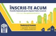 S-a lansat linia de inregistrare online a proiectelor pentru Premiile Romanian Building Awards!