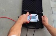Testarea paratrăsnetului PDA AIDITEC în conformitate cu NF C 17 102, UNE 21186