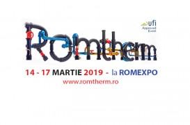 ROMTHERM - expoziție pentru instalații, echipamente de încălzire, răcire și de
