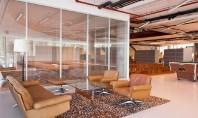 Idei noi pentru un birou multifunctional si unicat Peretele despartitor demontabil iQ Pro este un perete