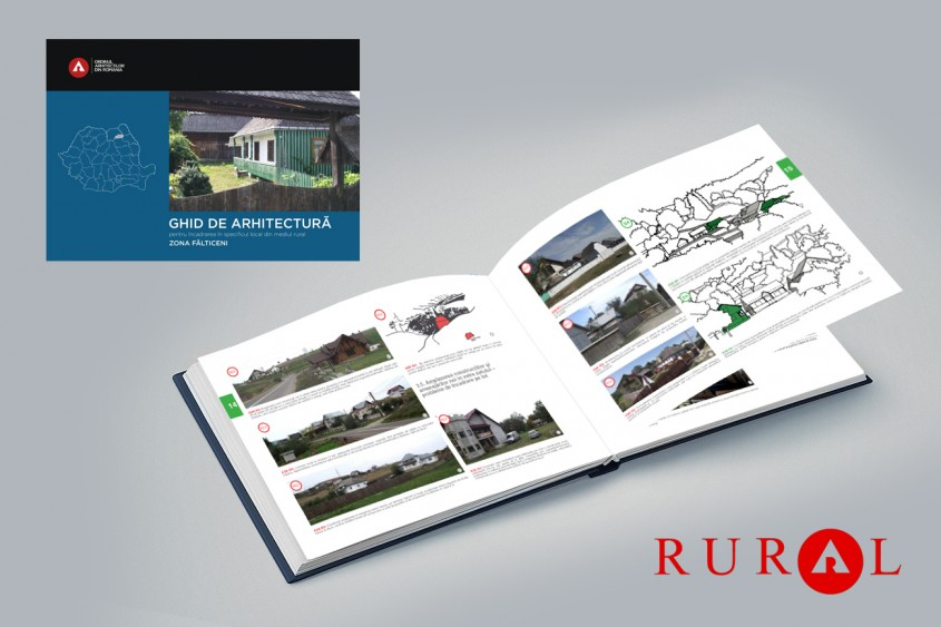 Zona Fălticeni. Ghid de arhitectură pentru încadrarea în specificul local din mediul rural