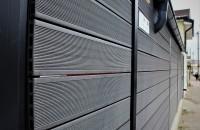 """O alternativă modernă la gardurile clasice din lemn - Model gard """"Robust"""" din profile wpc"""