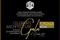 Save the date! 6 noiembrie, JW Marriott Grand Hotel București – Finala RBA 2017 urmată de Gala de premiere RBA - CELEBRATE ARCHITECTURE