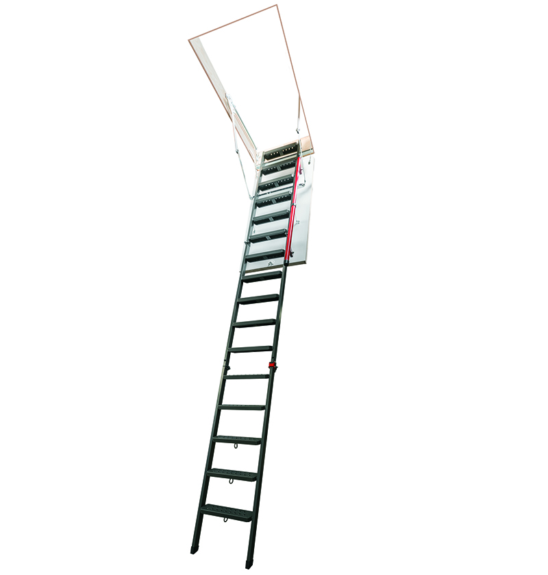 FAKRO LMP - Noua scară metalică de acces la pod