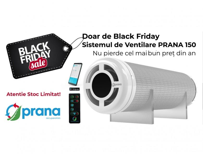 Black Friday pentru interioare sănătoase: Cumpără recuperatorul PRANA la cel mai bun preț din an