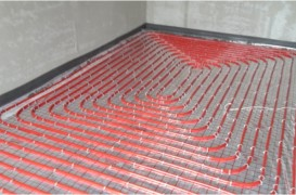 Incalzire in pardoseala intre 100-300 mp, pe sistem Taker
