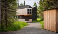 O cabana pe malul lacului Superior din Wisconsin Echipa de arhitecti Salmela Architects a finalizat lucrarile
